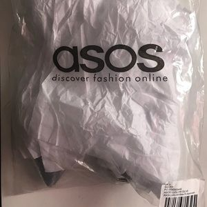 Brand New Silver Flats from ASOS